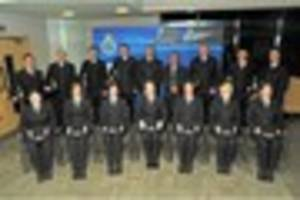 POLICE: STUDENT OFFICERS SWORN IN AS NEW STAFFORDSHIRE POLICE...